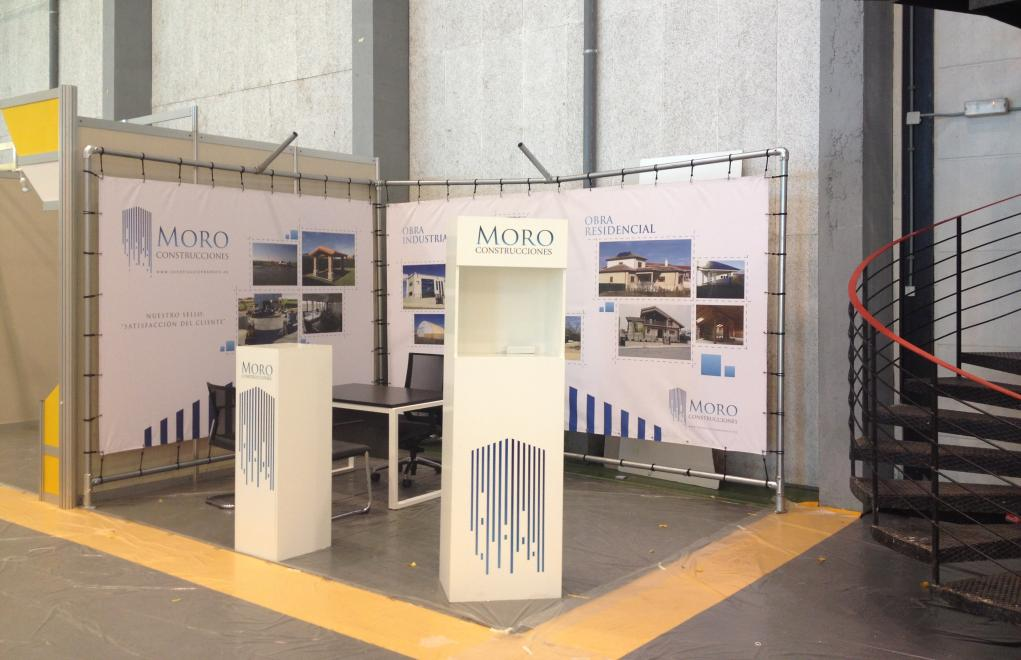 CONSTRUCCIONES MORO, STAND