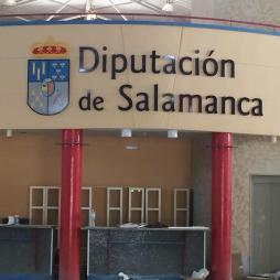 DIPUTACION DE SALAMANCA, LETRAS CORPOREAS