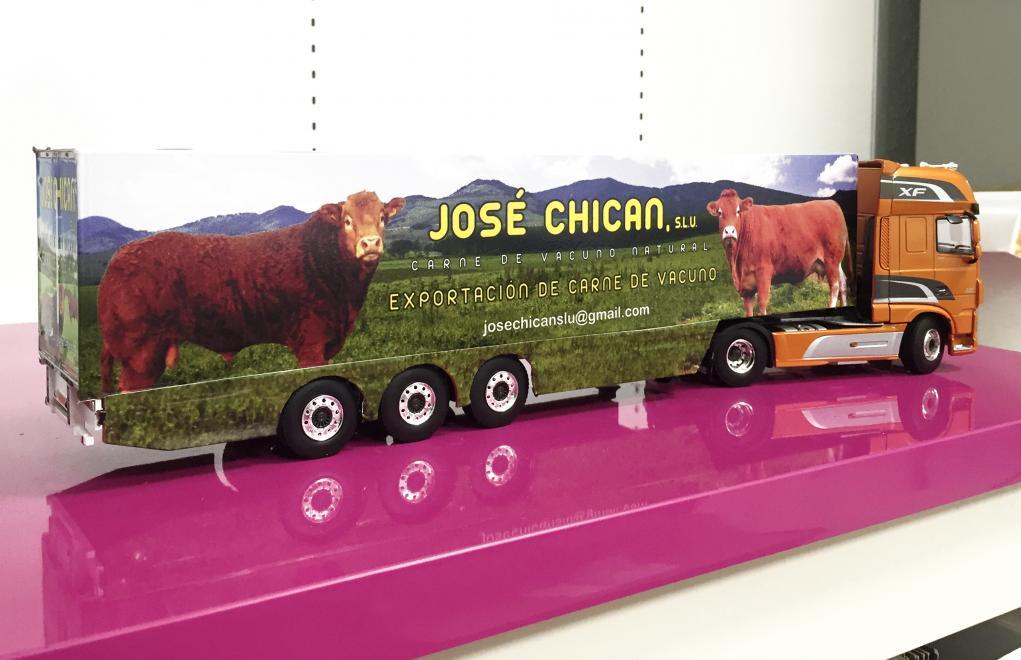 JOSE CHICÁN, maqueta camión