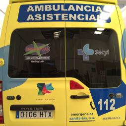 ROTULACIÓN AMBULANCIAS