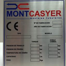 MONTCASYER, PLACA